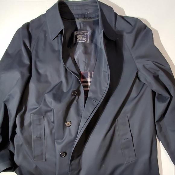 Burberry Trench Coat/ Car Coat Men's 44 Long